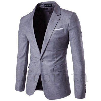 テーラードジャケット ビジネスコート ジャケット メンズ 細身 テーラード ビジネス メンズスタイル アウター トレンド 結婚式 西洋式 パーティー