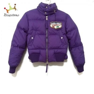 ディースクエアード DSQUARED2 ダウンジャケット サイズ38 S レディース - パープル 長袖/冬 新着 20210223