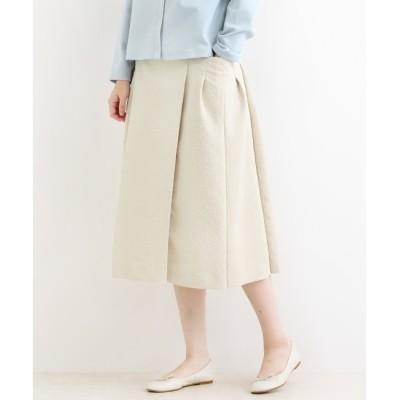 【マリン フランセーズ/LA MARINE FRANCAISE】 La petite maison タック切替スカート(マトラッセ)