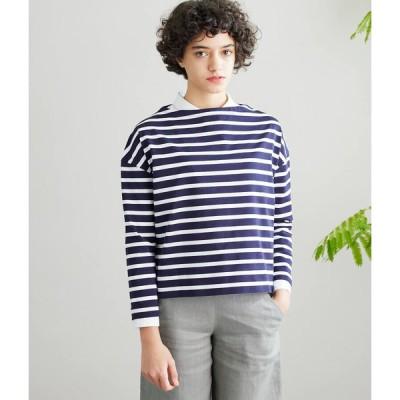 SIPULI / [ULTIMA] San Joaquin Cotton ボーダーバスクシャツ