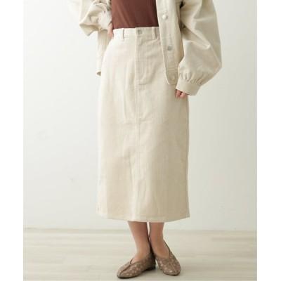 Ray Cassin / コーデュロイベイカーナロースカート WOMEN スカート > スカート