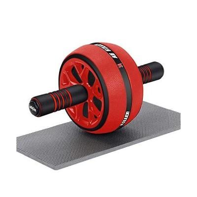LuckyLion 腹筋ローラー 腹筋トレ 体幹ストレッチ ダイエット アブローラー 滑り止め アブホイール 超静音 耐荷重200kg 取り付け簡単