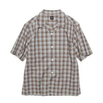 シャツ ブラウス TOWNCRAFT/タウンクラフト 60S OPEN SHIRTS 開襟シャツ/オープンカラーシャツ