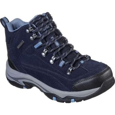 スケッチャーズ Skechers レディース ハイキング・登山 ブーツ シューズ・靴 Relaxed Fit Trego Alpine Trail Hiking Boot Navy/Gray