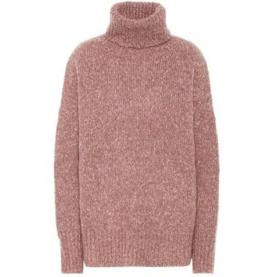 イザベル マラン Isabel Marant, Etoile レディース ニット・セーター トップス shadow alpaca-blend sweater Rosewood
