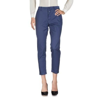 クローズド CLOSED パンツ ブルー 24 コットン 97% / ポリウレタン 3% パンツ