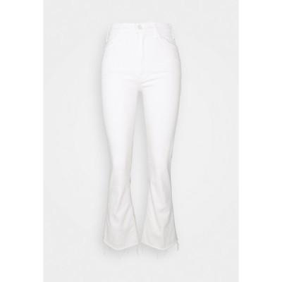 マザー デニムパンツ レディース ボトムス THE HUSTLER ANKLE FRAY - Bootcut jeans - cream puffs