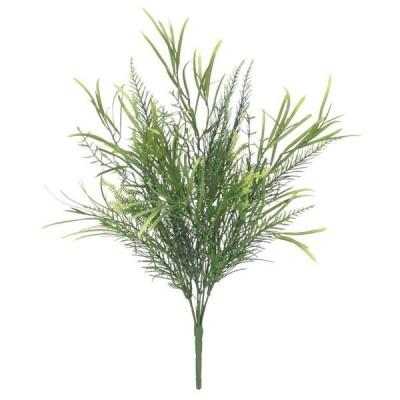 観葉植物 造花 屋外対応 スパイクファンアソートブッシュ 40cm 人工観葉植物 フェイクグリーン 光触媒 CT触媒 インテリア(G-L)