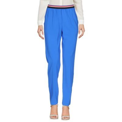 テッサ .TESSA パンツ ブルー 40 レーヨン 95% / ポリウレタン 5% パンツ