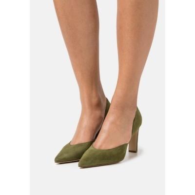 エイチ ジー エル ヒール レディース シューズ SHILA - Classic heels - moss