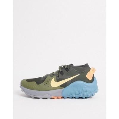 ナイキ Nike Running メンズ スニーカー シューズ・靴 Wildhorse 6 trainers in green グリーン