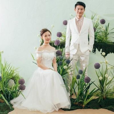 ウエディングドレス 二次会 袖あり Aライン 結婚式 花嫁 白 大きいサイズ 安い 海外挙式 パーティードレス 披露宴 ブライダル ロングドレス 演奏会