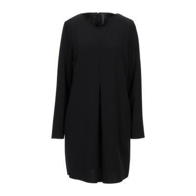 ZAHJR ミニワンピース&ドレス ブラック M ポリエステル 95% / ポリウレタン 5% ミニワンピース&ドレス