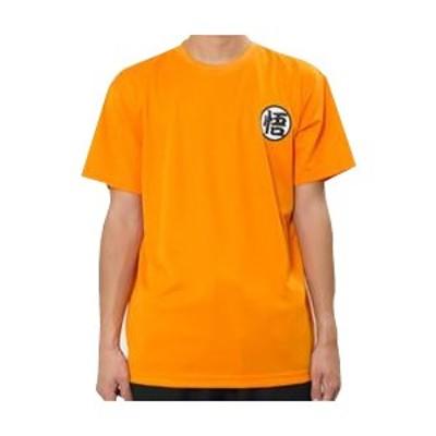 【納期目安:1週間】CMLF-1089360 ドラゴンボール 悟空 スポーツTシャツ X513-601 オレンジ・A14 男女兼用 Lサイズ (CMLF1089360)