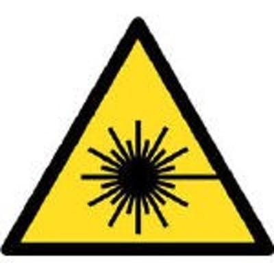ユニット レーザマーク・1辺150三角・5枚組・150X150【817-25】(安全用品・標識・安全標識)