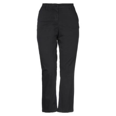 WHITE SAND 88 パンツ ブラック 42 コットン 97% / ポリウレタン 3% パンツ