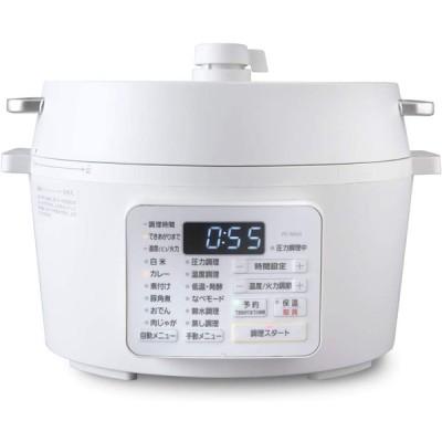 パナソニック 電気圧力鍋 3L(満水容量3L/調理容量2L) 圧力/低温/無水/煮込/自動調理 レシピブック付 SR-MP300-K