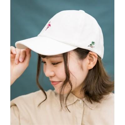 Shop無 / バードモチーフローキャップ WOMEN 帽子 > キャップ