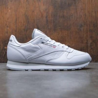 リーボック メンズ シューズ  Reebok Men Classic Leather (white)