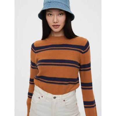 クロップドモックネックセーター