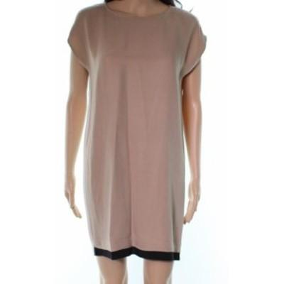 Joie ジョイー ファッション ドレス Joie NEW Beige Colorblock Womens Size XS Silk Nixon Shift Dress