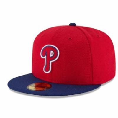 New Era ニュー エラ スポーツ用品  New Era Philadelphia Phillies Red/Navy Game Diamond Era 59FIFTY Fitted Hat