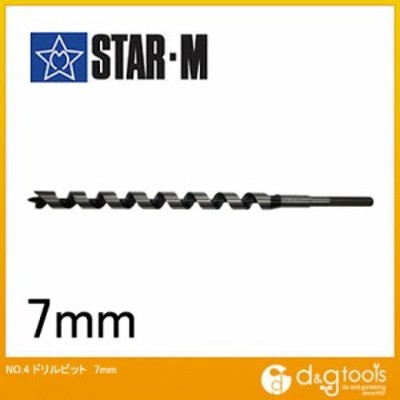 starm(スターエム) ドリルビット 7mm 4-070 1本