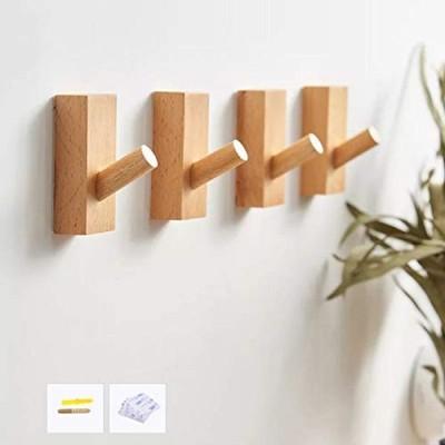 HomeDo 木製フック 壁フック ウォールフック おしゃれフック 壁掛けフック ウォールハンガー 帽子掛け 帽子フック 装飾壁掛けフック