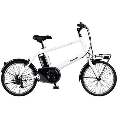 PANASONIC BE-ELVS073F クリスタルホワイト ベロスター・ミニ [電動アシスト自転車(20インチ・外装7段変速)] 電動自転車