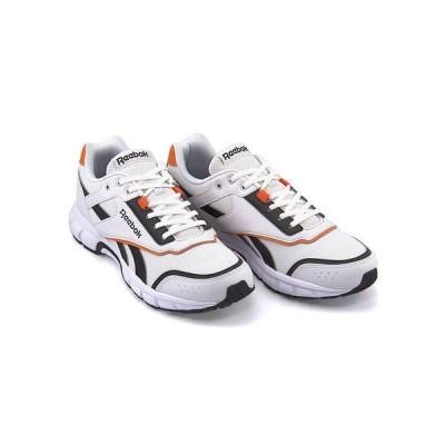 リーボック ランニングシューズ スニーカー メンズ ロイヤルラン ROYAL RUN FINISH Reebok DV8775 トゥルーグレー/ブラック/オレンジ/ホワイト