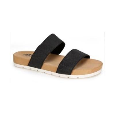 クリフバイホワイトマウンテン レディース サンダル シューズ Women's Tahlie Slide Sandals Black