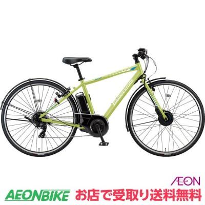 【お店受取り送料無料】 ブリヂストン (BRIDGESTONE) TB1e 2021年モデル 9.9Ah T.Xネオンライム 外装7段変速 27型 TB7B41 電動自転車