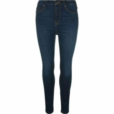トゥルー レリジョン TRUE RELIGION レディース ジーンズ・デニム ボトムス・パンツ Caia High Rise Jeans Boo Blue GJEM