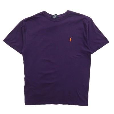 ラルフローレン Polo Ralph Lauren Tシャツ ワンポイント パープル サイズ表記:S