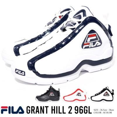 FILA フィラ スニーカー シューズ メンズ  GRANT HILL 2 96GL グラントヒル2 ハイカット バスケットシューズ ダッドシューズ ダッドスニーカー