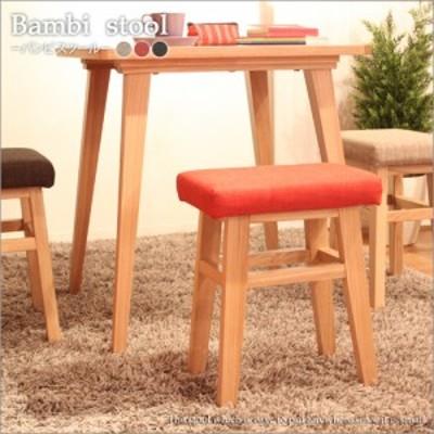 Banbi stool バンビ スツール 木製 アンティーク 北欧 シンプル 台所 リビング チェア いす 椅子 イス 背もたれなし キャスターなし 椅子