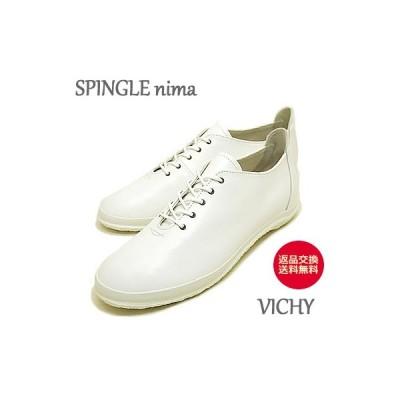 スピングルムーブ  レディースSPINGLE MOVE SPINGLE nima スピングルニーマ VICHY NIMA-123 WHITE ホワイト【返品交換送料無料】
