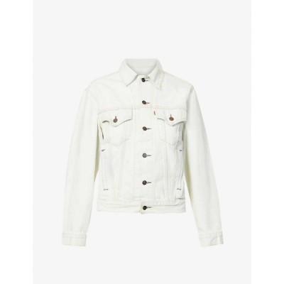 リーバイス LEVIS レディース ジャケット Gジャン アウター Pre-loved Levis Authorised Vintage Trucker faded denim jacket Av White