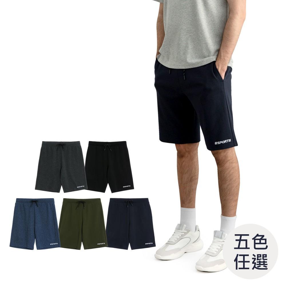 GIORDANO 男裝素色針織短褲 (五色任選) 13101042