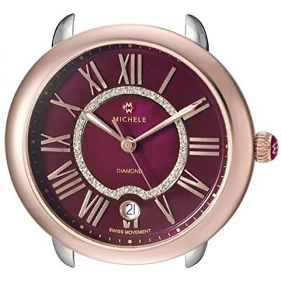 ミシェル 腕時計 レディースウォッチ MICHELE Women's MW21B00L4033 Serein 16 Analog Display Swiss Quartz Silver Watch Head