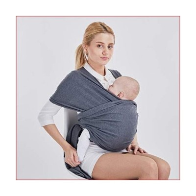 DSAEFG Baby Wrap Strap - All in One Retractable Baby Wrap Handsfree Great Baby Gift (Mysterious Grey)