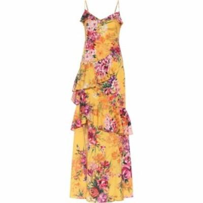 ノッテ バイ マルケッサ Marchesa Notte レディース パーティードレス ワンピース・ドレス Floral Crepe De Chine Gown Marigold