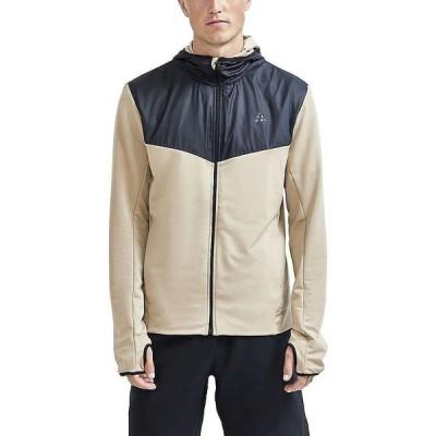 クラフト Craft Sportswear メンズ ランニング・ウォーキング ジャケット アウター Adv Charge Jersey Hood Jacket Crock/Black