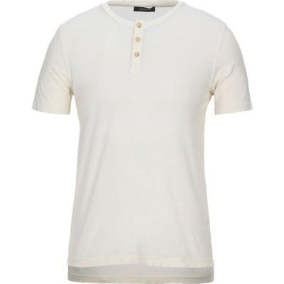 ロベルトコリーナ ROBERTO COLLINA メンズ Tシャツ トップス t-shirt Ivory