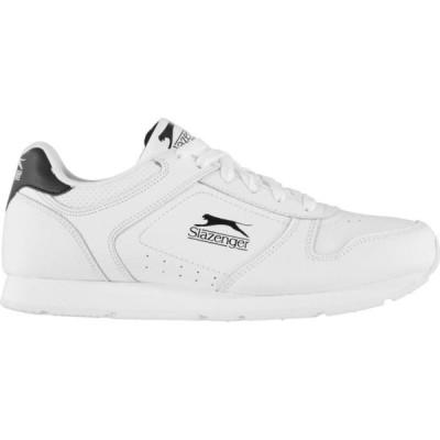 スラセンジャー Slazenger メンズ スニーカー シューズ・靴 Classic Trainers White/Black
