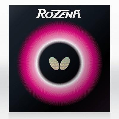 Butterfly ロゼナ レッド 中 卓球ラバー ハイテンション裏ソフトラバー