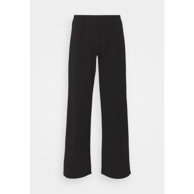 ジェイディーワイ レディース ファッション JDYBLACKBURN WIDE PANT - Trousers - black