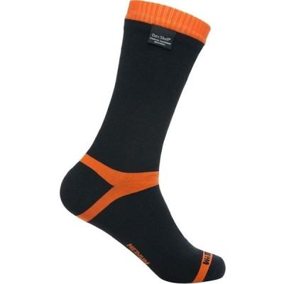 DexShell(デックスシェル) 防水通気靴下 Hytherm Pro socks (ハイ サーモ プロソックス) DS634 オレンジストライプ