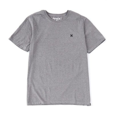 ハーレー メンズ Tシャツ トップス Icon Siro Short-Sleeve Solid T-Shirt Dark Grey