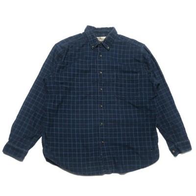 Penmans コーデュロイ チェック シャツ サイズ表記:L